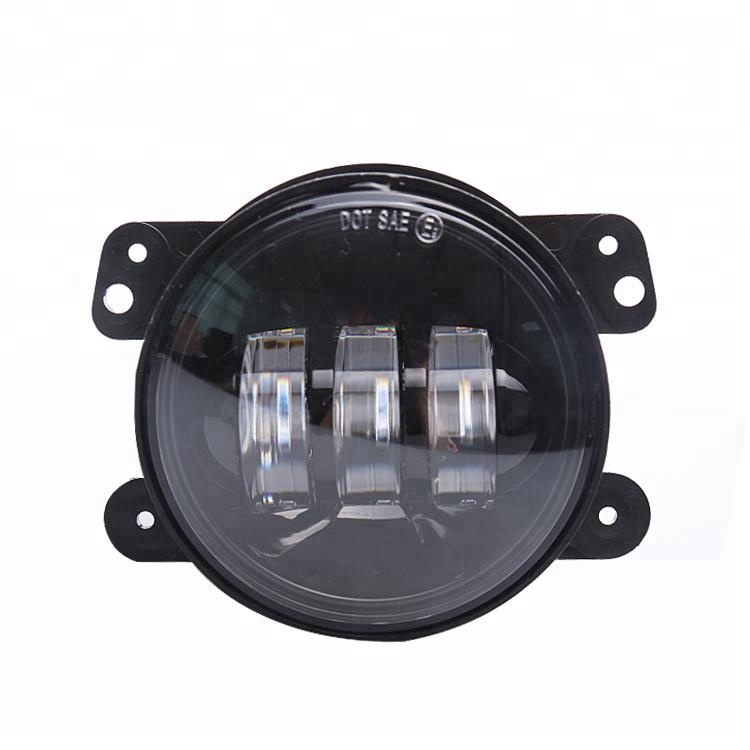 "Hot sale 30W 4 inch led fog lamps driving light 12V 24V 4"" led fog light for Jeep Wrangler"