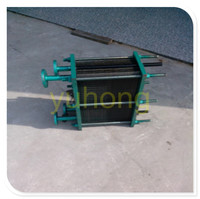 PHE plate and frame cooler