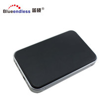 Aluminum 12.5mm Thickness 2.5 inch USB3.0 External HDD Case Support 1TB SATA HDD/SSD