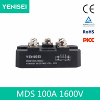 100a welder bridge rectifier three phase thyristor module mds100