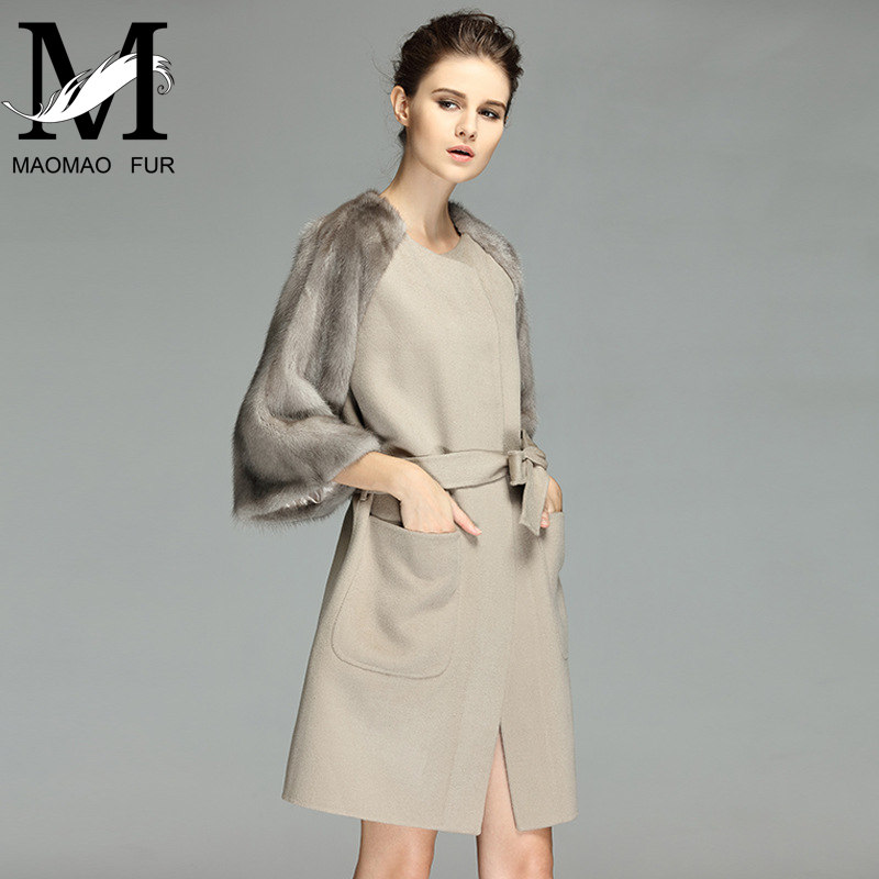 2016 Winter New Arrival Sheared Real Fur Mink Coat For Sale