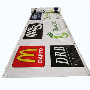 full color inkjet printing durable outdoor fence advertising printed vinyl pvc banner