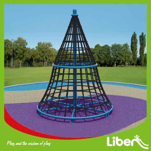 Kids Climbing Structure, Outdoor Kids Rope Climbing Structure for Backyard