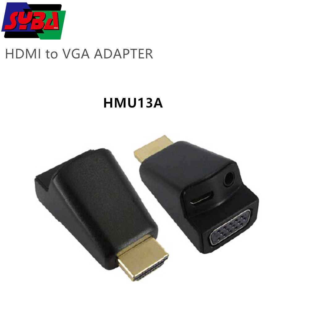 Hdmi 14 To Vga Adapter 1080p Hd Resolution Display Converter Dongle For Video And Game Console Buy Vgadisplay Adaptervga