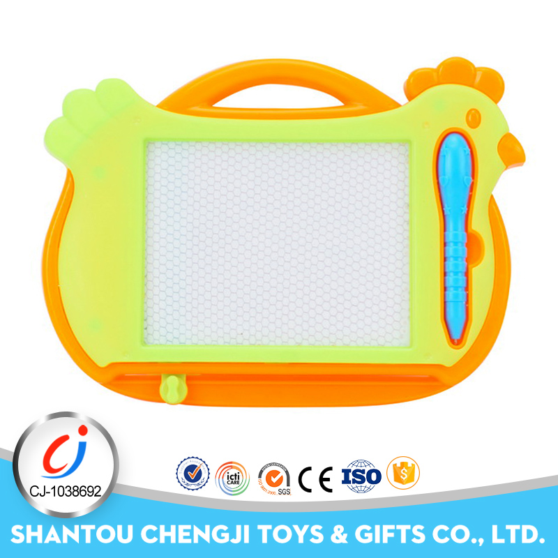 Children learning tablet magnetic kids drawing board for sale