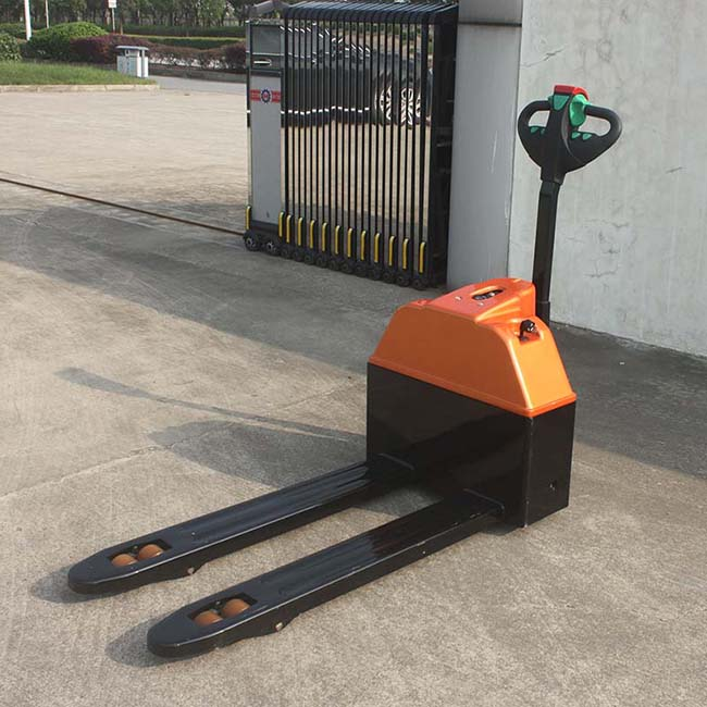 China OEM manufactures Semi-Electric Pallet Truck 1.5 Ton (CBD15)