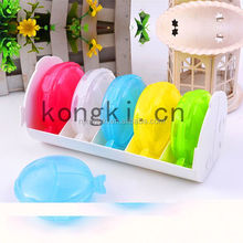 Plastic 30 day fish shape pill box