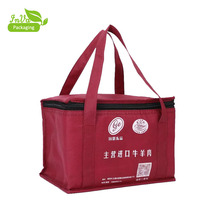 Fashionable Custom Thermal Cooler Bag wine picnic cooler shopping bag