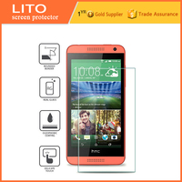 Tempered Glass Screen Protector For htc desire 610 with design