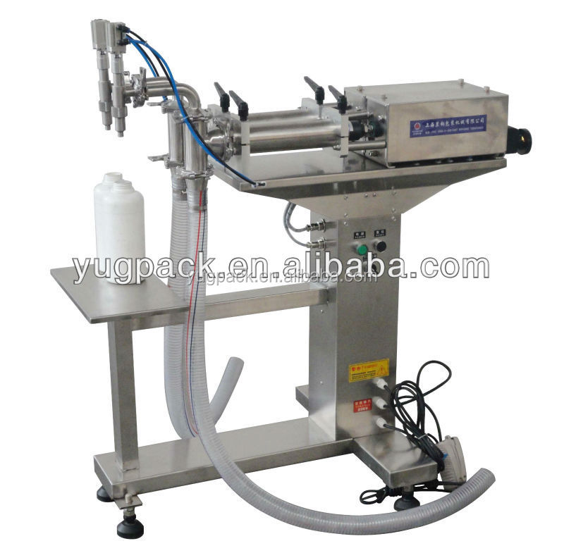 Two-head Manual cleansing milk Filling Machine YGF-YL/1000