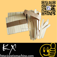 100% Natural Color birch wooden ice cream stick popsicle stick