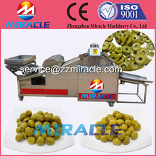 No broken olives ring slicer machine/olives cutting machine made in China