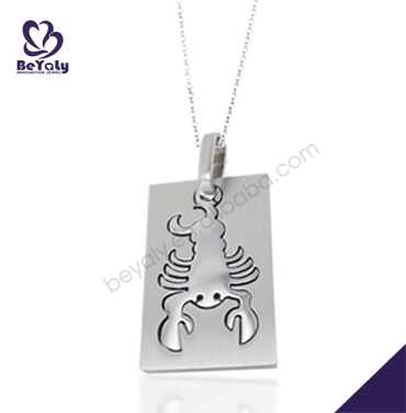 Delicate fashion engraved letter r 925 silver pendant jewelry