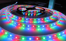Mitlux 5050SMD IP68 Marine Outdoor RGB LED Strip Light LED Tape Light 60leds/m AC220V 110V High Voltage Dream COlor BSCI CE