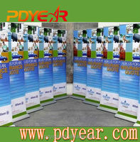 Factory promotion roll up banner,Aluminum roll up stand, Retractable banner stand