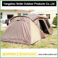 luxury family professional fireproof camping tent thick canvas