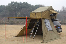 2015 hot sale top quality roof top tent/with aluminium ladder car rooftop tent for camping