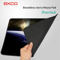 EXCO OEM sample acceptable cheap thin custom overlock laptop stand with gaming mouse pad
