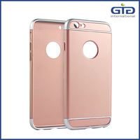 [GGIT] New 3 in 1 PC and TPU Material with Pure Color for iPhone 6 Mobile Phone Case