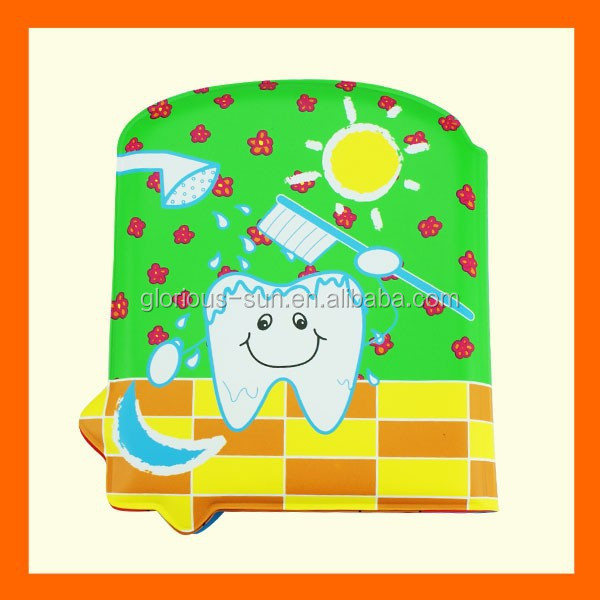 Hot Sales in Japan Toothpaste Shape Tub Book for Little Kids to Enjoy Reading and Play Fun