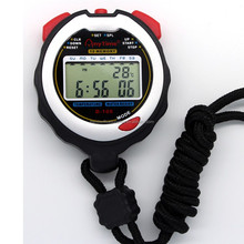 Latest digital lcd waterproof stopwatch with high quality/stopwatch digital timer