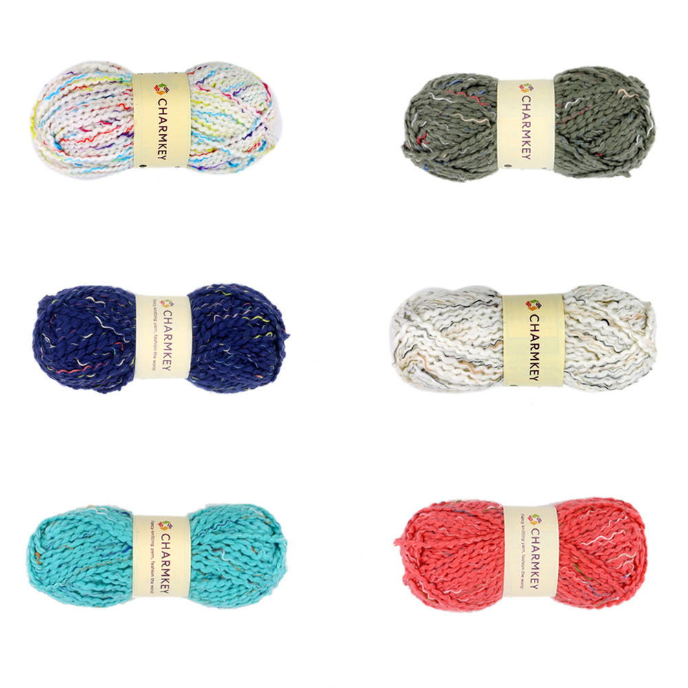 Factory made hand wholesalers knitting fancy yarn prices colored hand knitting yarn sweater scarf yarn high quality