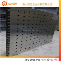 High quality stainless steel aluminum honeycomb panel for prefabricated house prices
