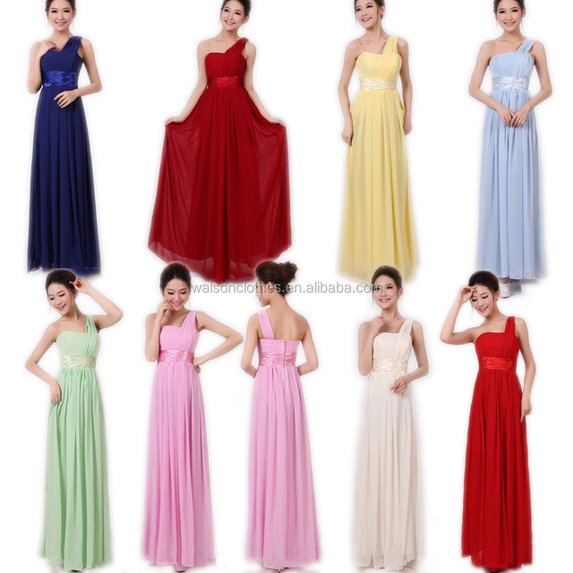 New Long Chiffon Evening Formal Party Ball Gown Prom Bridesmaid Dress