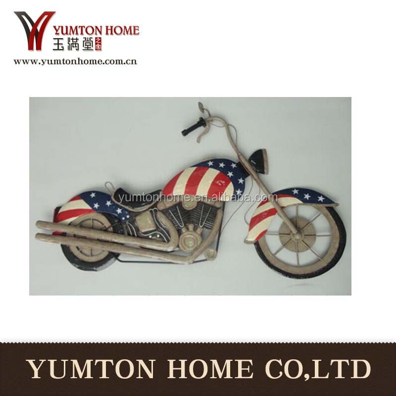 decoration motorcycle and Metal Wall decor