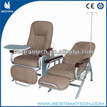 With IV Pole, Dinning Table Medical Patient Iv Infusion Chairs