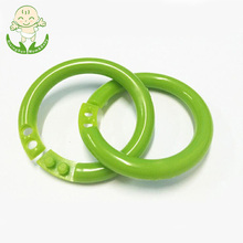 Plastic link baby safety snap chain link ring for baby toy