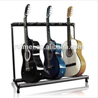 Movable 3 Positions Metal Guitar Stand