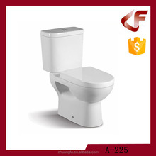 Chaozhou classical toilet china two piece ceramic washdown water closet toilet
