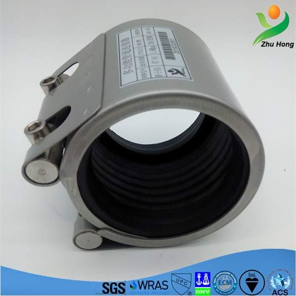 MF 6 inch pipe clamp fabricated pipe clamps pipe leak repair clamps stainless steel tube joints