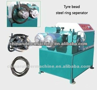 steel wire peel off machine/waste tyre recycling plant
