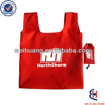 cheap foldable promotional shopping bag with logo