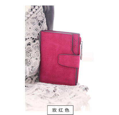 2016 Handy Printed Women Wallet Small Female Purse Floral Carteras Mujer Femininas Pochette Monederos Brand Card Holder Gift