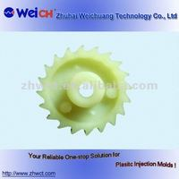 custom mold plastic gear injected tectile machine parts mould