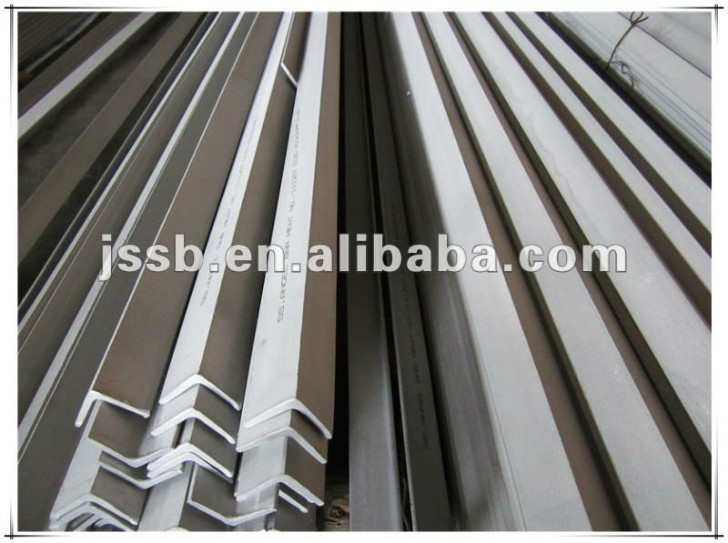 HRAP SUS 304 Stainless steel equal angles factory direct export