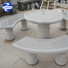 Granite Garden Stone Tables And Chairs Direct from Factory