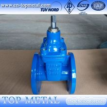 anti corrosion anti-theft gate valve with bucket strainer price
