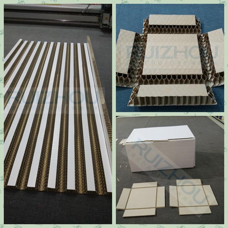 Hard Corrugated Board Honeycomb Knife Cutting Machine