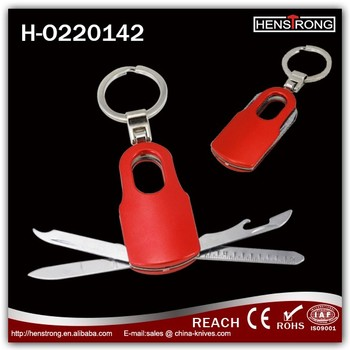 5 IN 1 Promotional multi tool keychain