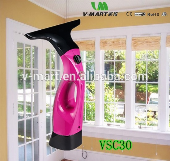 2017 mini portable electric magnetic window cleaner handy steam cleaner