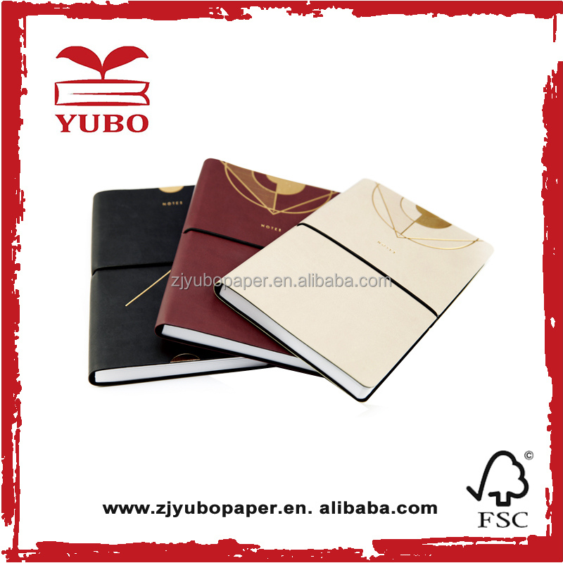 various type beautiful design vegetable tanned leather hides book