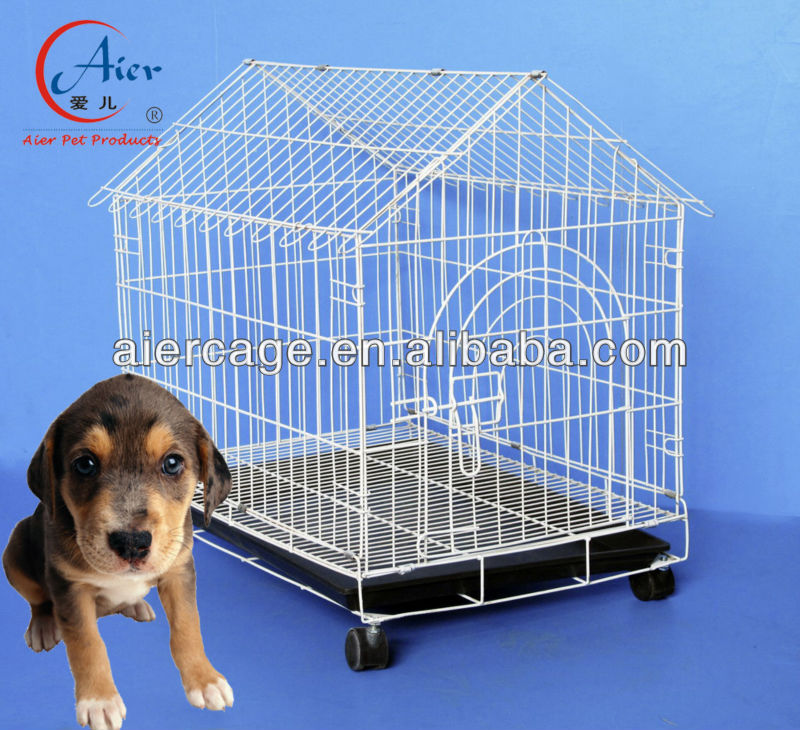 folding wire dog cage house