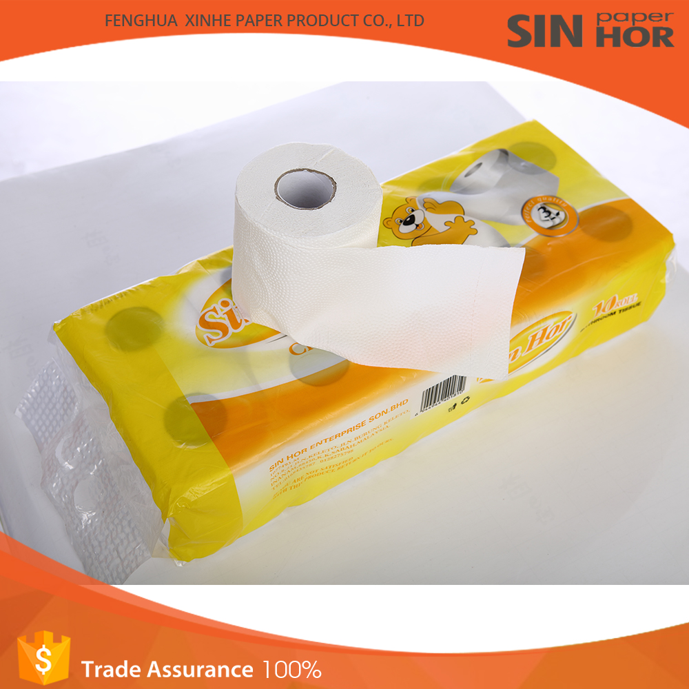 2016 Cheap and Fine Public Tissue Paper Jumbo Roll Toilet Paper