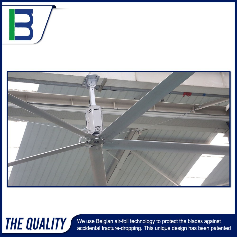 O Used Big Place Five Place Air Cooling Roof Industrial Ventilation Fan