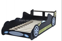 Cheap walmart Kid beds furniture with racing car style