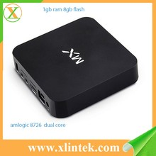 2015 best selling mx wifi tv smart box dual core android 4.2 g-box smart tv box